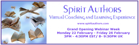 'Spirit Authors' a membership site for authors: Grand Opening tomorrow