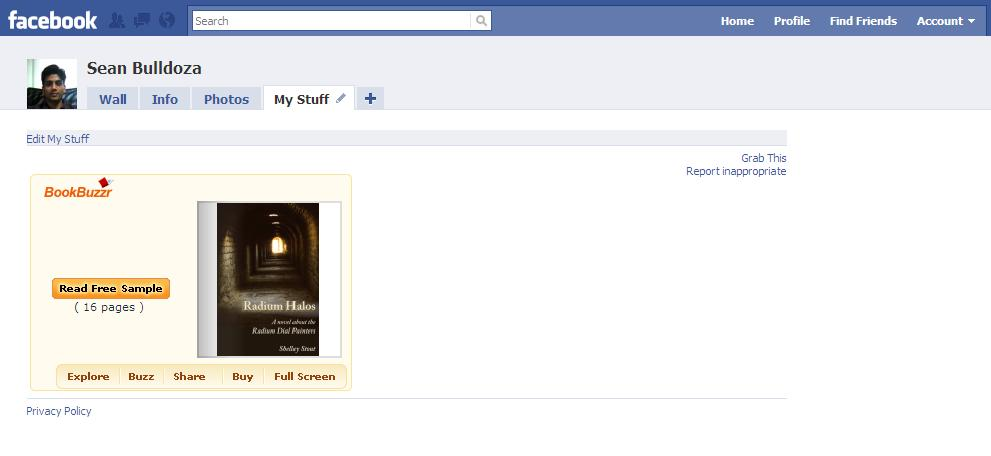 How to Market Your Book By Sharing Your BookBuzzr Book Widget on Facebook