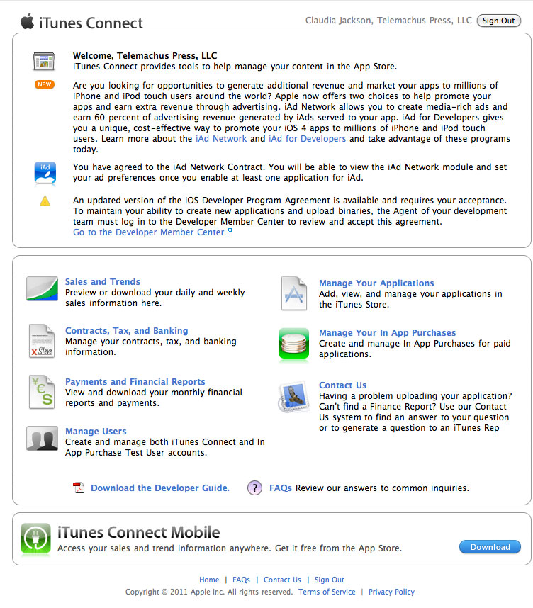 A Birds-Eye View of iBooks, iBookstore and iTunesProducer