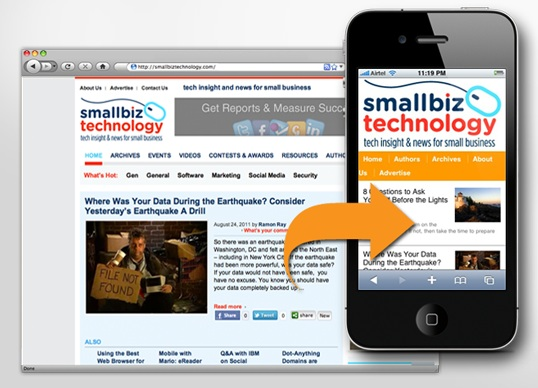 A Mobile-friendly website: From Design & User Perspective
