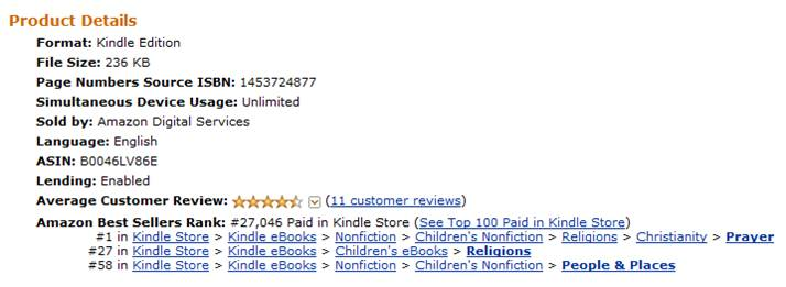 How My Book Hit #1 on Kindle