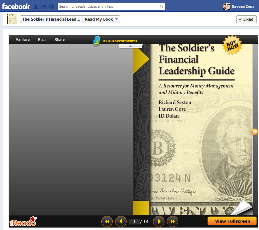 Announcing the New Read My Book Widget for Facebook from BookBuzzr