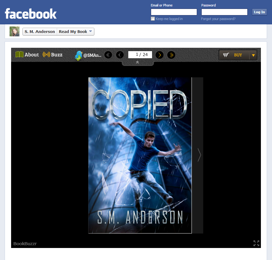 How to Install the BookBuzzr 'Read My Book on Facebook' Widget