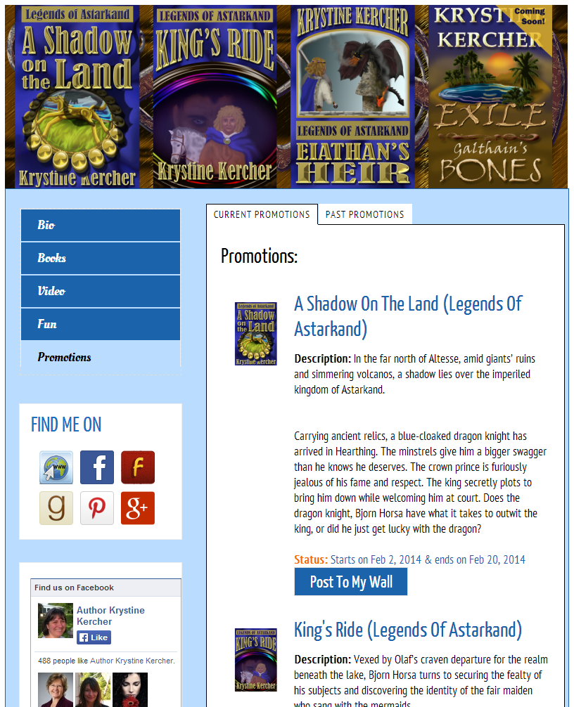 5 BookBuzzr AuthorPage Widgets to Inspire You in February 2014