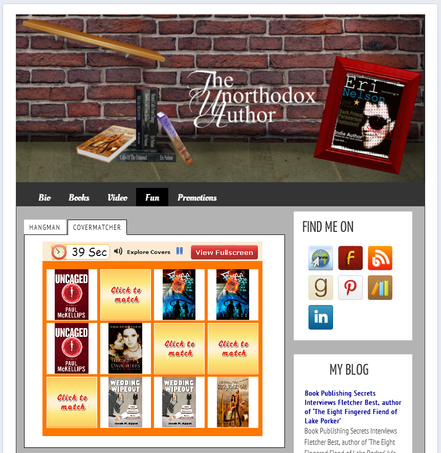 5 BookBuzzr AuthorPage Widgets to Inspire You in March 2014