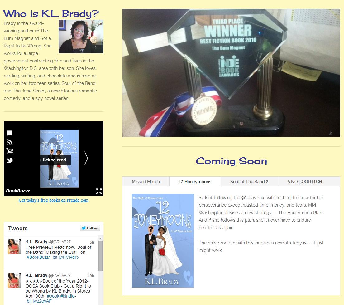 5 BookBuzzr Widget Installations to Inspire You in June 2014