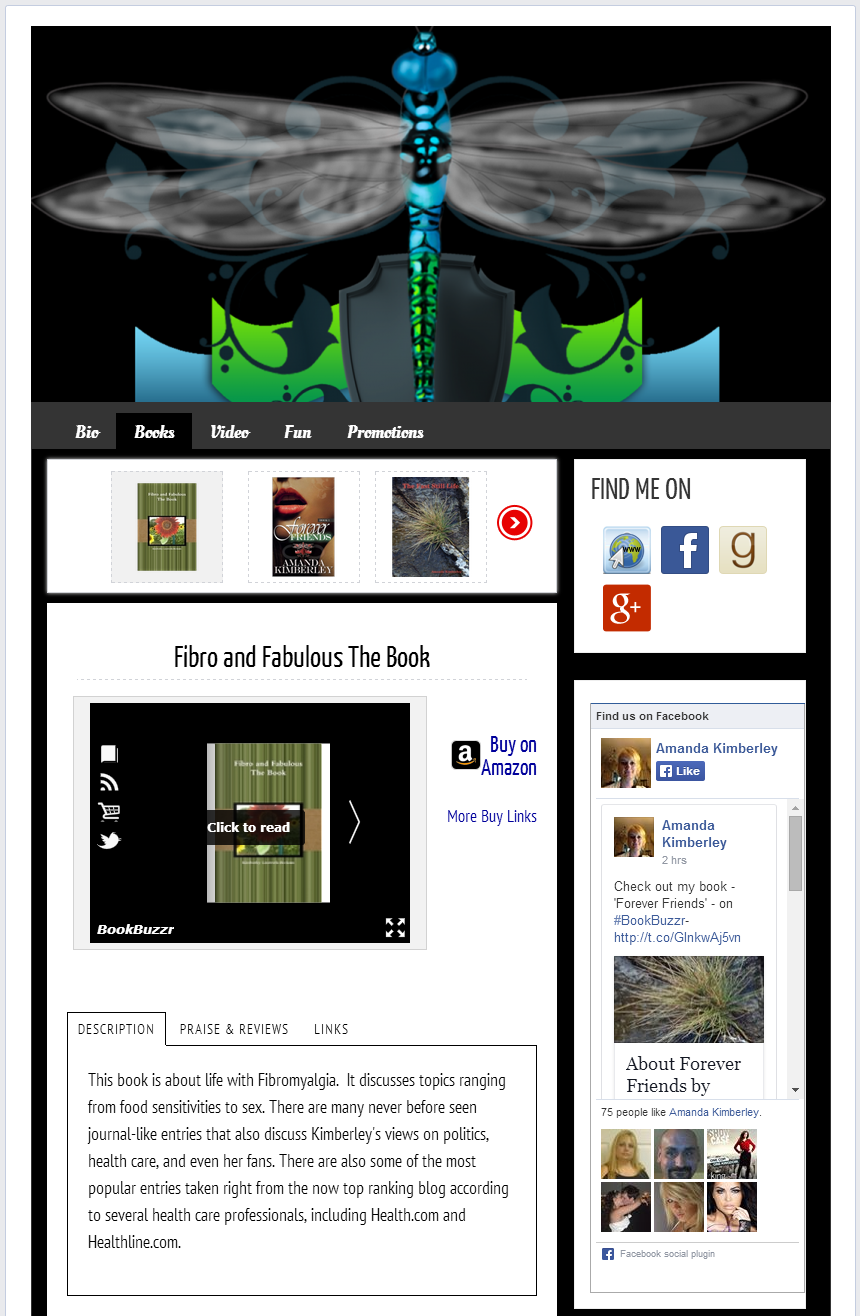 5 BookBuzzr AuthorPage Widgets to Inspire You in June 2014