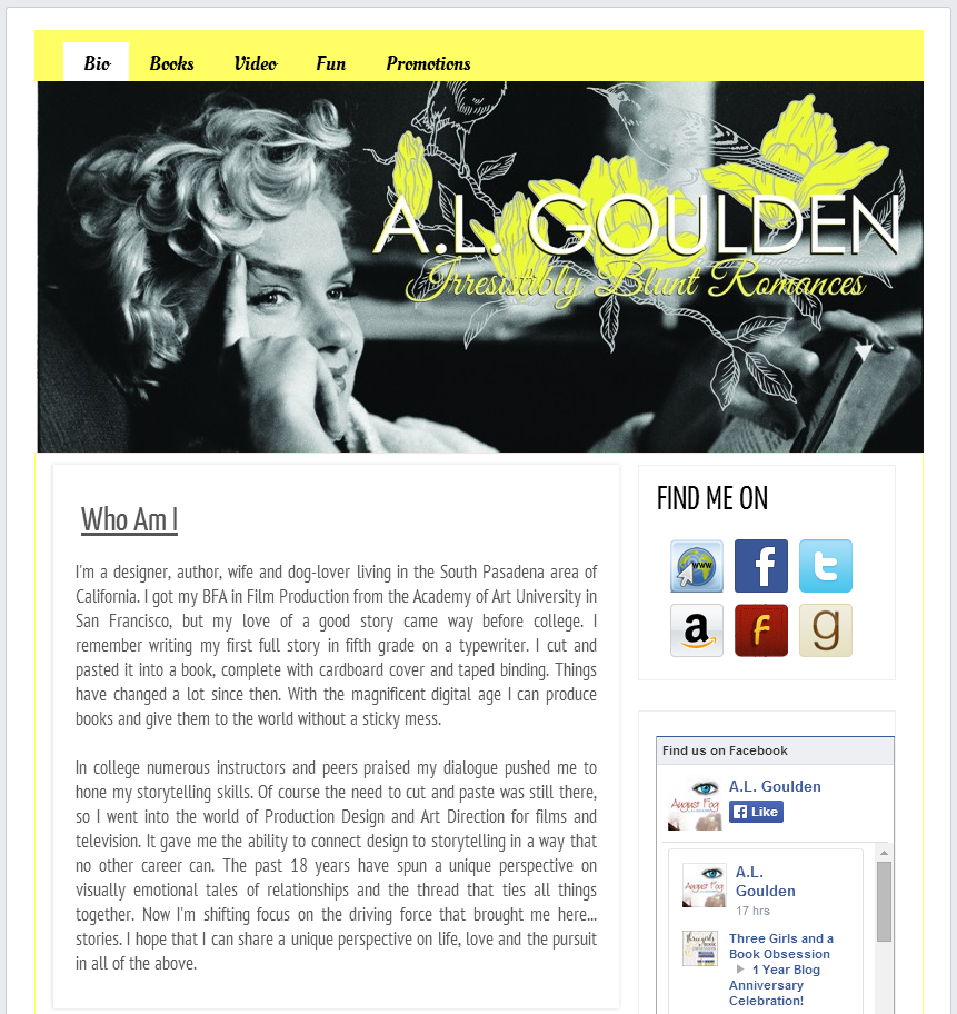 Goulden's authorpage