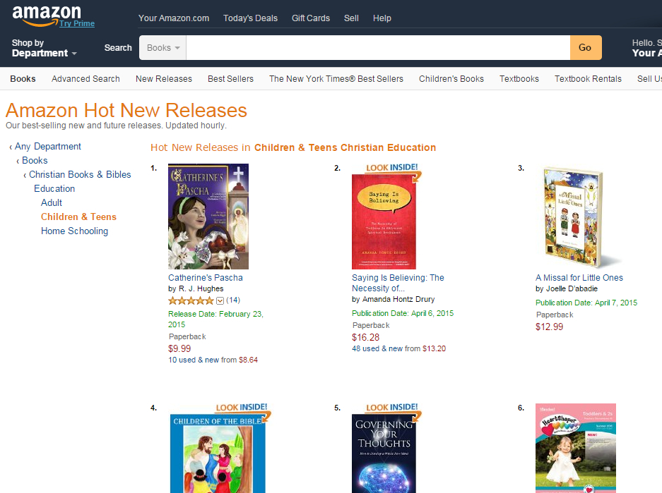 Catherine's Pascha book #1 in New Releases