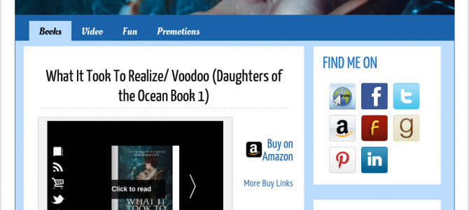 5 BookBuzzr AuthorPage Widgets To Inspire You In July 2015