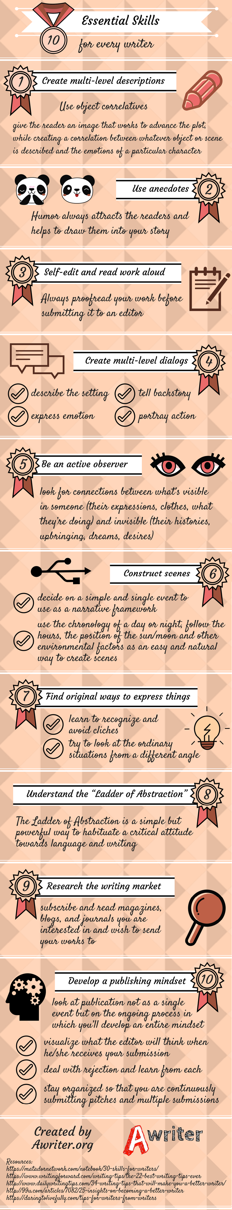 10 Essential Skills for Every Writer