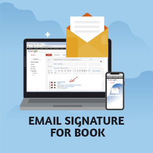 Email Signature Made Using Your Book