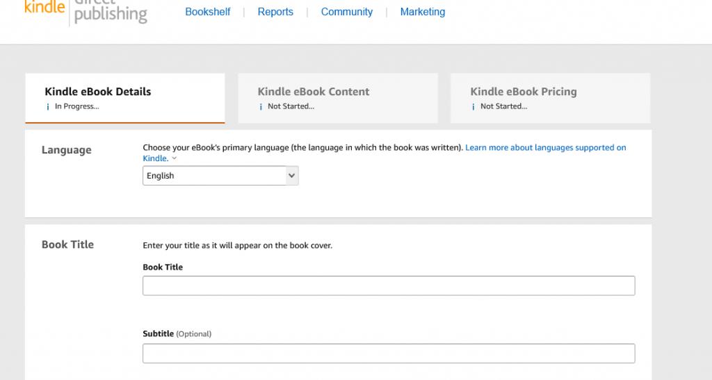 kindle ebook details