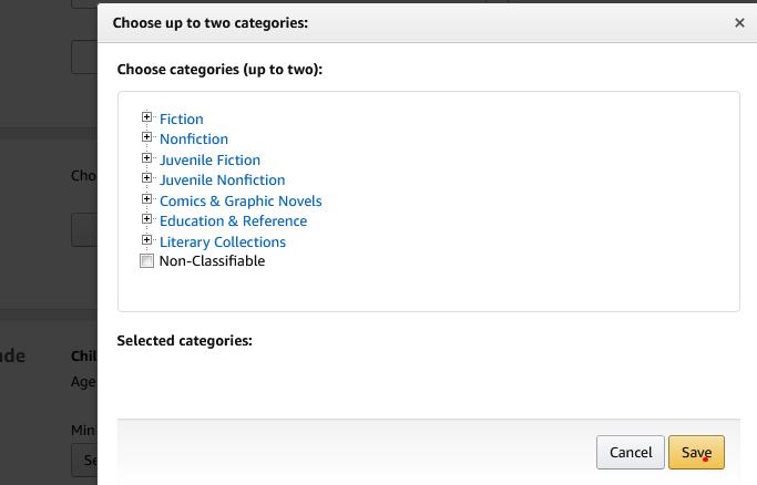 _KDP_eBook_category_Amazon_Kindle_Direct_Publishing
